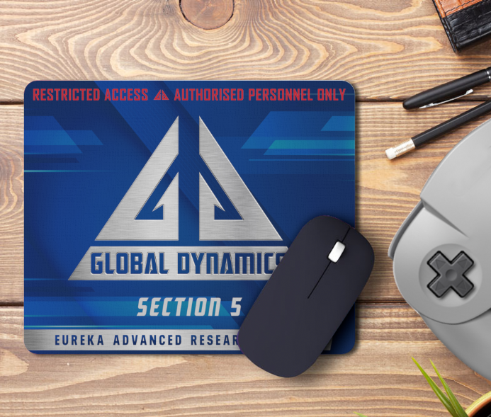 Global Dynamics Mouse Mat Pad Inspired by Eureka Warehouse 13